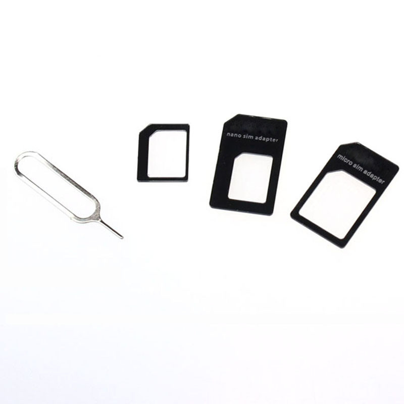 CARPIRE Levert Dropship Retail Version Best Quality With Pin Convert Nano SIM Card To Micro Standard Adapter For IPhone Samsung