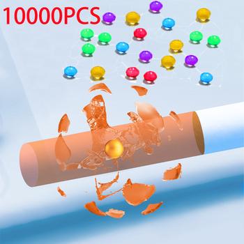 10000 1000PC Mint papieros Pops koraliki owoce smak miętowy smak papieros Holder akcesoria do palenia prezent dla mężczyzny papieros Holder tanie i dobre opinie CN (pochodzenie) Lustro as show