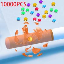 10000 1000PC Mint papieros Pops koraliki owoce smak miętowy smak papieros Holder akcesoria do palenia prezent dla mężczyzny papieros Holder tanie tanio CN (pochodzenie) Lustro as show