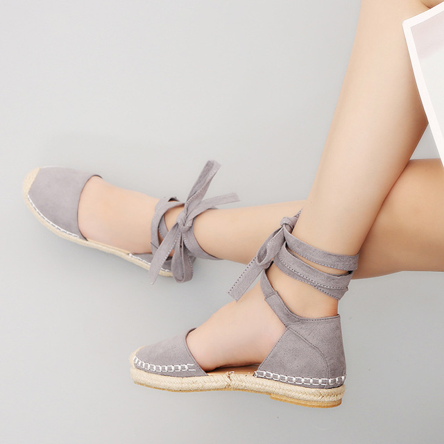 Casual Leisure Espadrille Flat Shoes for Ladies