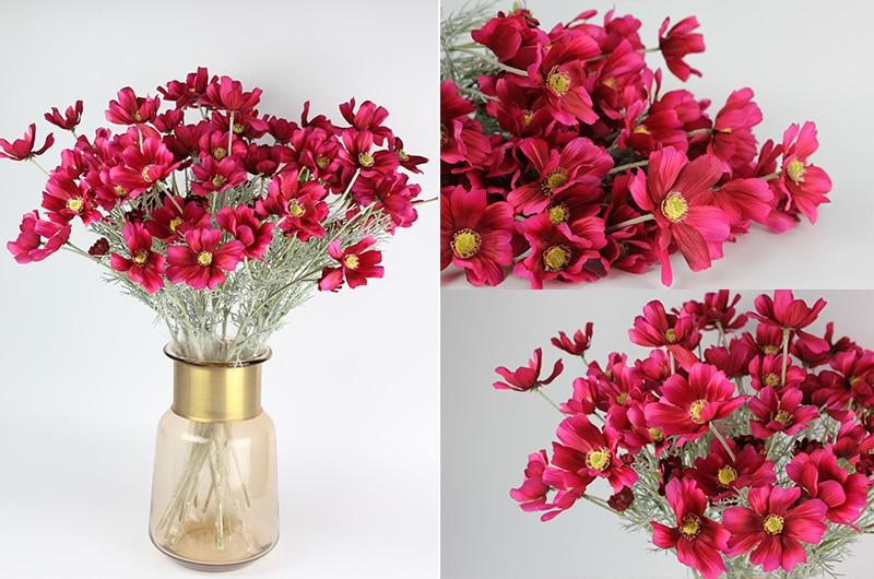 qualidade flores de seda crisântemo decoração para