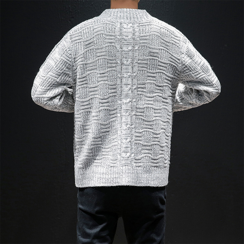 Autumn New Cardigan Sweater Men Plus Size 5XL 2020 Slim Fit Casual College Japan Style Solid Knitted Sweater Hombre Coat Outwear