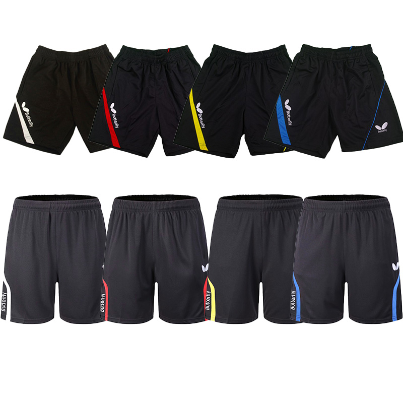 Table Tennis Wear Unisex Ping Pong Wear Quick-drying Breathable Sweat Absortption Table Tennis Short Pants Lovers Sportswear