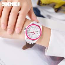 Часы наручные skmei мужские/женские кварцевые модные водонепроницаемые