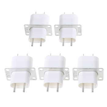 5Pcs Electronic Microwave Oven Magnetron 4 Filament Pin Sockets Converter Home 50PB - discount item  18% OFF Furniture Accessories
