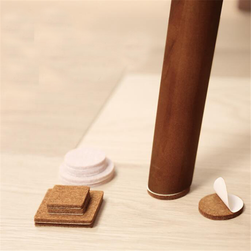 1set Home Slip Felt Sticker Appliances Sticker Useful Protection Pads Silent Wear-resistant Silencer Pads For Furniture