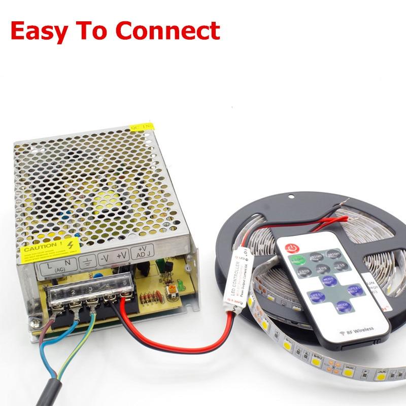 单色带控制器连接方式