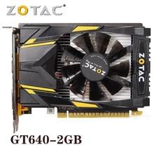 Original zotac placa de vídeo geforce gt640 2gb 128bit placas gráficas gpu mapa para nvidia gt640 2gd3 hdmi dvi vga