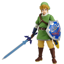 14CM Anime Attack Link PVC Toy Action Figure Doll Figma Collectible Model PVC Toy Christmas Gift For Children цены