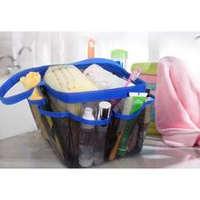 Quick Dry Shower Tote Bag Oxford Hanging Toiletry Mesh Organizer for Shampoo Conditioner Soap  Bathroom Accessoriess