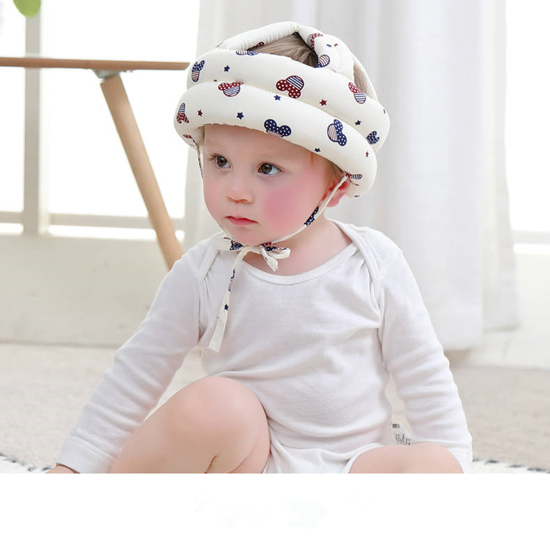 Baby Anti-fall Helmet Headgear Baby Hat Toddler Toddler Anti-fall Head Protection Pad Children Learn To Walk Crash Cap