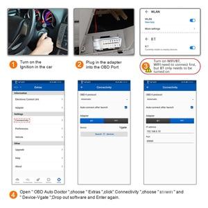 Image 4 - Oryginalny Vgate iCar Pro elm327 V2.2 narzędzie diagnostyczne obd2 Bluetooth 4.0 OBD 2 Auto skaner ELM 327 dla IOS/Android samochodowy czytnik kodów