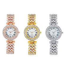 2019 women watches luxury diamond rose gold ladies magnetic