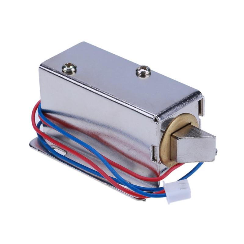 Electronic Door Lock  Incline Right Catch Door Gate 12V 0.4A Release Assembly Solenoid Access Control