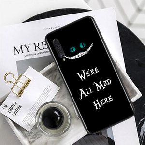 Image 4 - Alice In Wonderland Voor Samsung Galaxy A90 5G A80 A70S A60 A50 A50S A40 A30S A20S A20E A20 A2 core A10 Telefoon Case