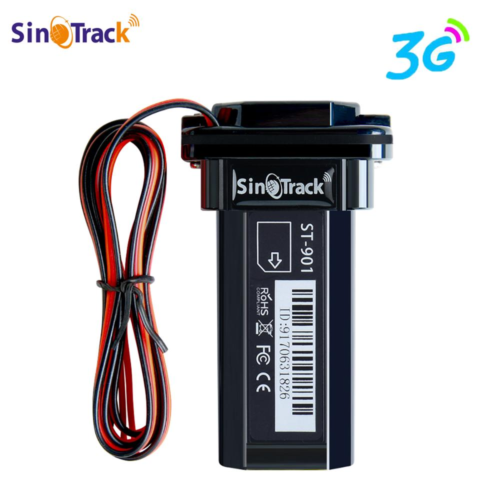 3G WCDMA Mini Tracker Waterproof Builtin Battery <font><b>GPS</b></font> ST-<font><b>901</b></font> for Car vehicle <font><b>gps</b></font> device motorcycle with online tracking software image