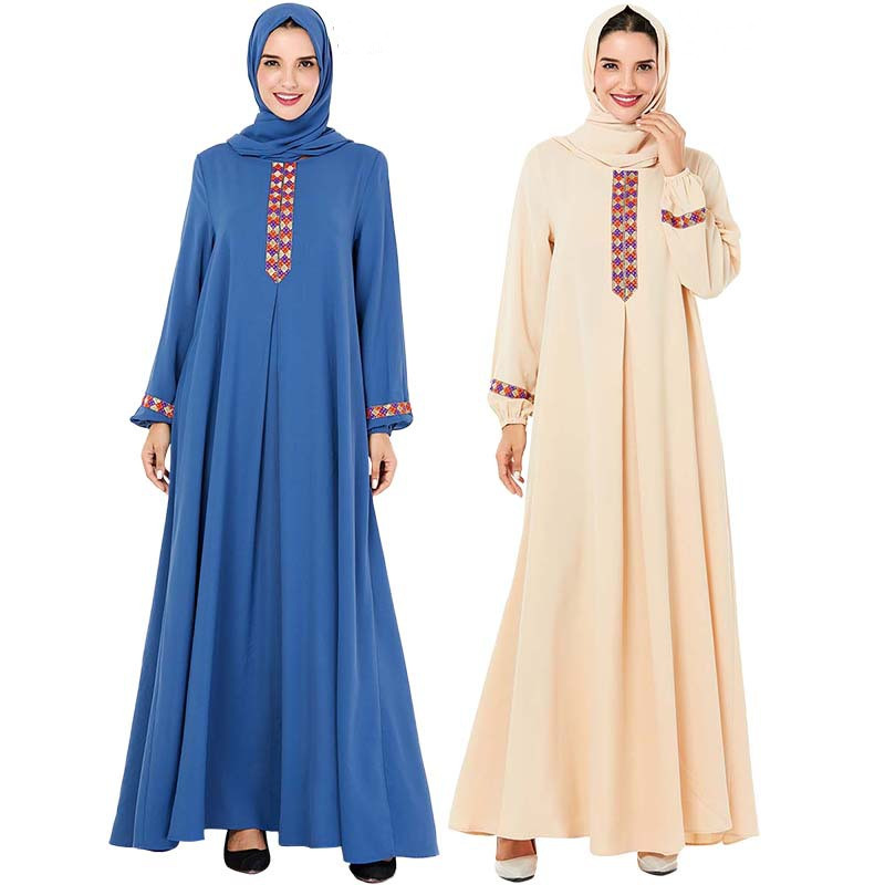 Cothes Muslim Abaya Women Muslim Kaftan Dress Modest Jilbab Print Abaya Islamic Turkish Long Dresses Casual Muslimah Abaya Dubai