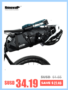 Flash Deal Rhinowalk 14 inch 20 inch Folding Bike Bag Loading Vehicle Carrying Bag Pouch Packed Car Thickened Portable Bicycle Pack 3