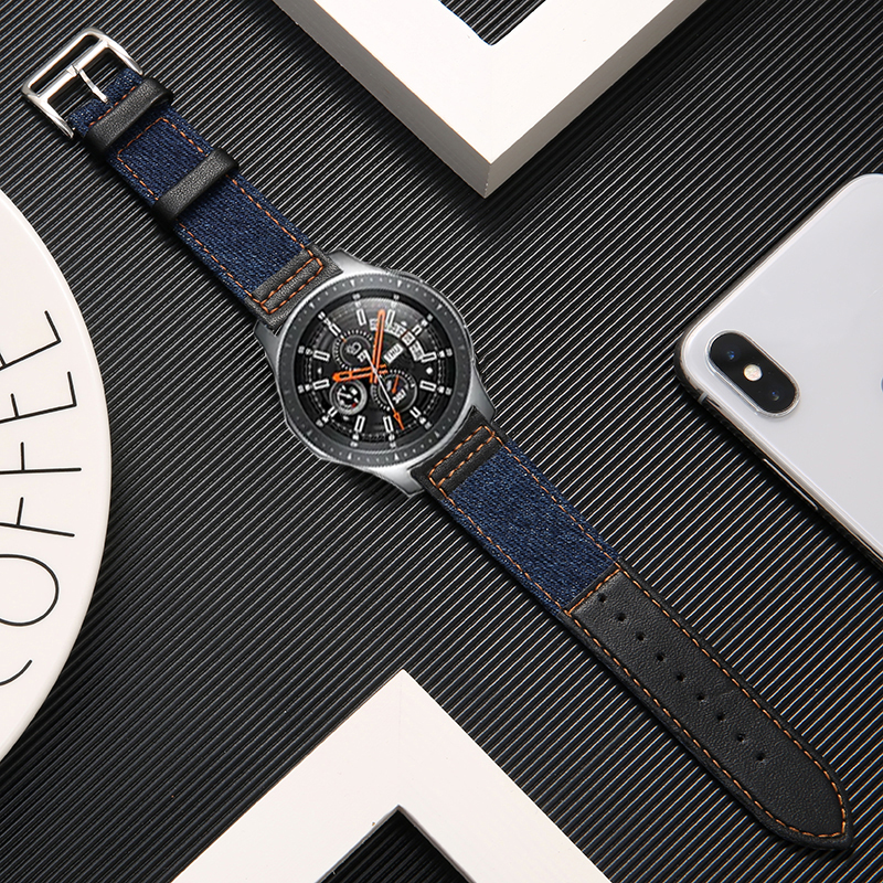 watch accessories strap for Samsung Galaxy watch 46mm 46mm S3 Frontier huawei watch gt 2 watch band amazfit GTR 47mm bracelet