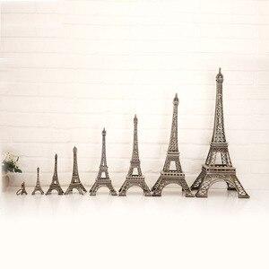 32 см/38 см/48 см/60 см бытовые изделия из металла винтажная Бронзовая статуя Париж башня Тур модель сплава домашний декор путешествия сувениры ...