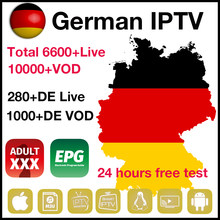 German adult xxx IPTV subscription 10000+ vod french germany spain UK with epg m3u IPTV hot channels for smart tv box STB(China)