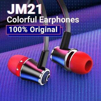 Langsdom Mijiaer JM21 באוזן אוזניות עבור טלפון iPhone Huawei Xiaomi אוזניות Wired אוזניות אוזניות אפרכסת fone דה ouvido