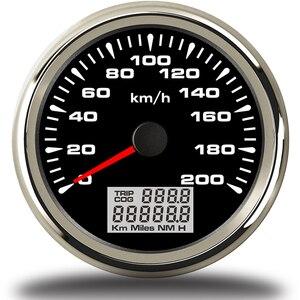 Image 4 - 7สีBacklight GPS Speedometer 85มม.รถยนต์เครื่องวัดระยะทางAuto Tuningเครื่องมือTachometerแผงSnelheidsmeter MotorสำหรับBmw E46