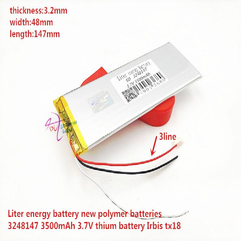 "3248147 Battery Pack for 7"" Irbis TX18 TX27 TX21 TX69 TX57 TX22 TX54 TX33 TX34 TX50 TX25 TX71 TX72 TX46 3G Tablet Polymer li ion|Digital Batteries| |  - title="