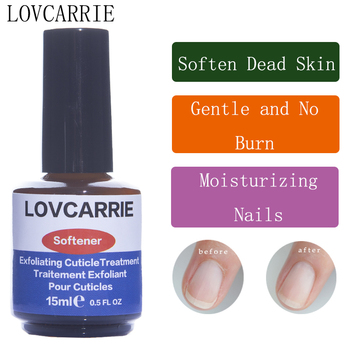 LOVCARRIE 15ml Cuticle Softener Soften Oil Nail Cuticle Remover Nail Treatment Care Tools for Gel Nail Manicure Remove Dead Skin недорого