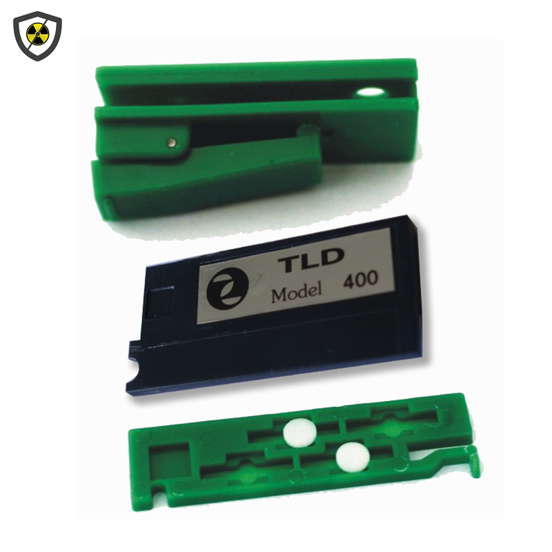 Genuine 2 pieces TLD-400 thermoluminescent personal dosimeters x-ray, gammag-ray radiation detection dose card