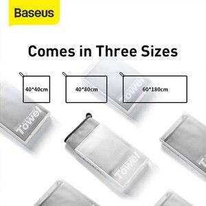 Image 5 - Baseus Toalla de lavado de coches, toalla de microfibra seca, Kit de limpieza automática, accesorios para el cuidado del coche