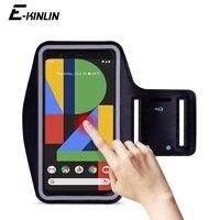 Funda para teléfono con soporte para teléfono móvil, banda para correr, deporte y gimnasio, resistente al agua para Google Pixel 5 A 4a 3 2 XL 4XL 4XL 3aXL 3XL 2XL 5G