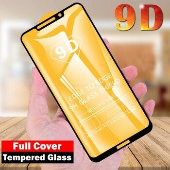 Перейти на Алиэкспресс и купить 9D полное покрытие из закаленного стекла для Motorola Moto One Vision Action Power Macro P50 P30 Note Play Защитная пленка для экрана
