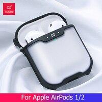 Per Apple AirPods 1 2 3 custodia trasparente custodia per auricolare compatibile senza fili Bluetooth custodia protettiva lusso con copertura ad anello moda