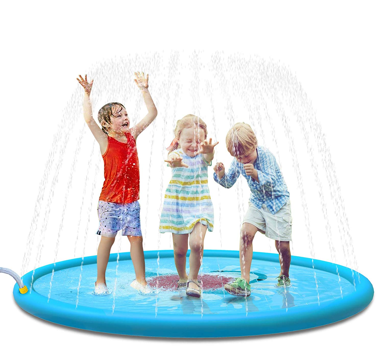 Sprinkle Splash Play Mat Sprinkler For Kids Outdoor Water Toys Fun For Boy Girls Children Outdoor Party Sprinkler Toy Splash Pad