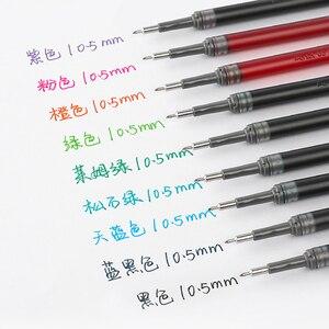 Image 2 - 10Pcs Pentel farbe schnell trocknend gel minen LRN5 0,5mm große kapazität geeignet für BLN75/BLN2005/BLN105 eine vielzahl von farben