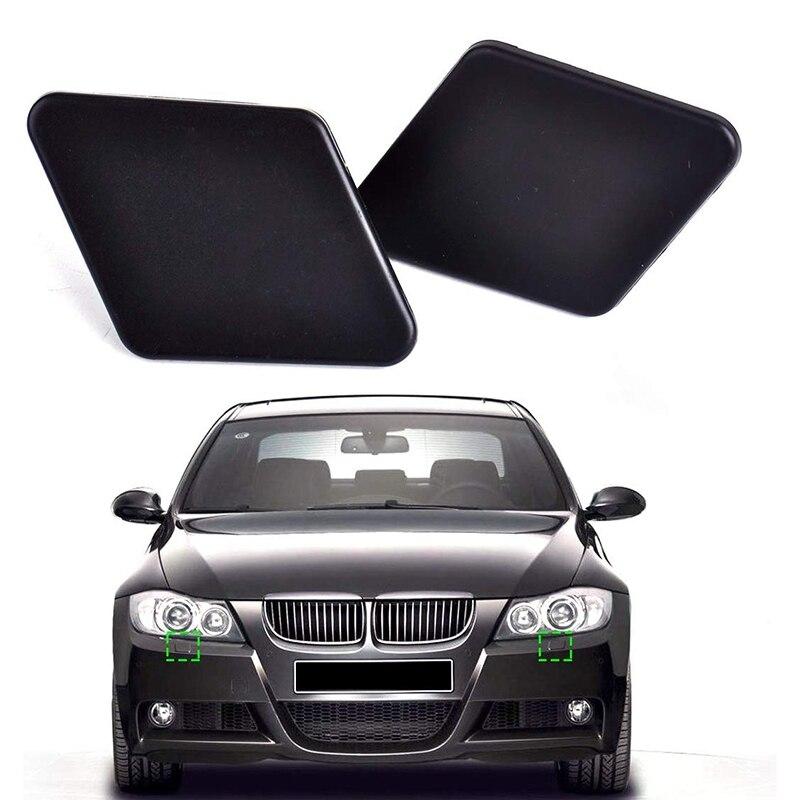 Front Bumper Headlight Washer Nozzle Spray Cover Cap For BMW 3 Series E90 05-09
