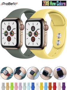 Sport-bandă watchband-curea 42mm-benzi de cauciuc 40mm soft-silicon 44mm 1-38mm pentru mere