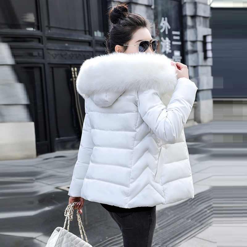 Gran piel 2020 nuevo Parkas mujer abrigo de invierno grueso de algodón chaqueta de invierno para mujer prendas de vestir Parkas para mujer chaqueta de invierno