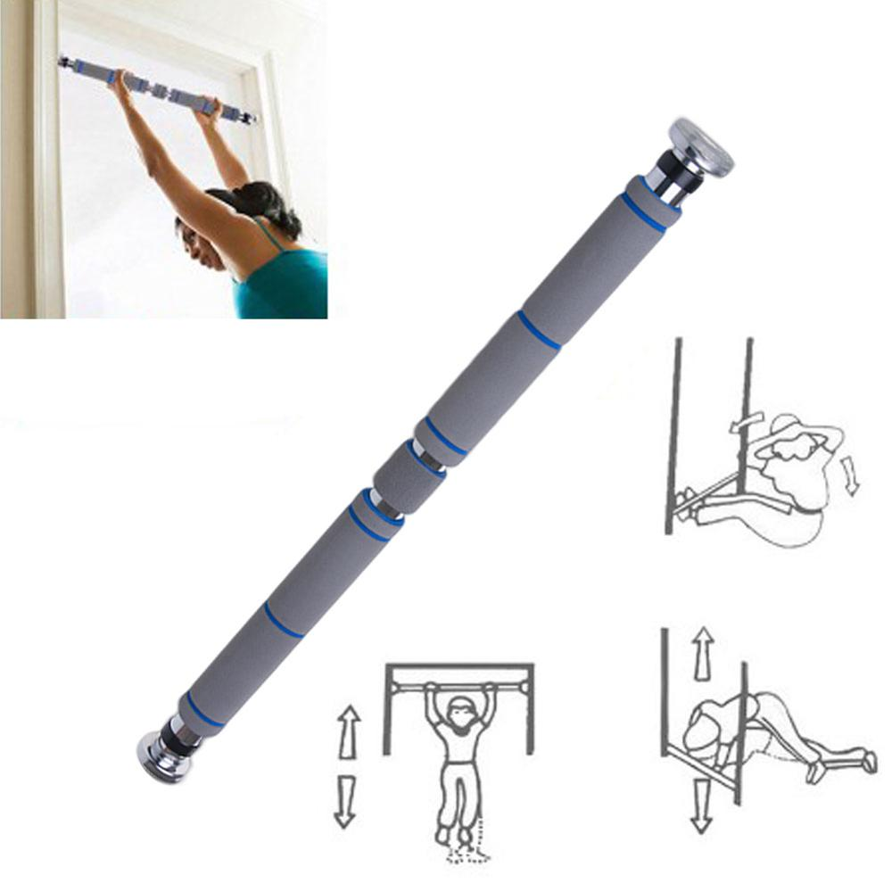 Door Horizontal Steel Adjustable Training Bars For Home Sport Bar Workout Pull Up Arm Training Sit