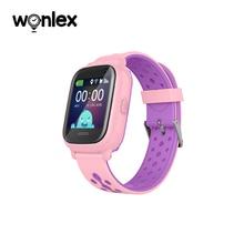 Wonlex Smart-Watch 2G Children SOS-Call GPS Locator Waterproof Camera Pedometer KT04 Location GPS-Tracker Child Voice Chat Gift