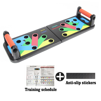 Push Up Rack Board ABS Training Board abdominal Muscle Trainer Sports Home Fitness Equipment for body Building Push-Ups Stands
