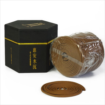 Chen Xiang Aloes Incense Coil Alleviate Fatigue House Aroma Pleasant Smell Relieve Anxiety Meditation Aromatherapy 1