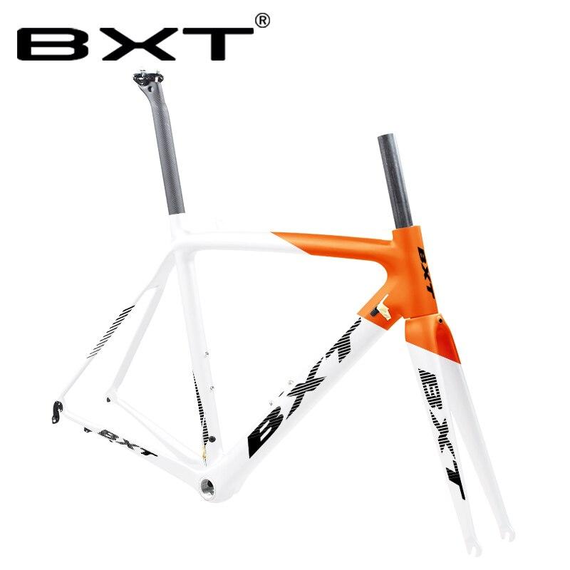New Road Carbon Bike Frame Di2 Mechanical Super Light T800 Carbon 700C Aero Road Bicycle Frameset Seatpost Fork Clamp Headset