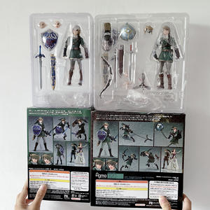 Collectible Figures Link Sword Figma Skyward Zelda Twilight Princess Model-Toy 319 320