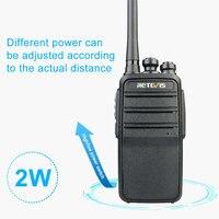מכשיר הקשר שני Retevis RT53 DMR דיגיטלי מכשיר הקשר 2W UHF DMR רדיו שני הדרך רדיו Comunicador משדר דיבורית הווקי טוקיז רדיו שינקין (2)