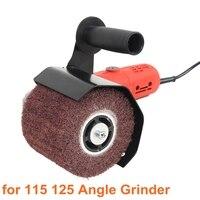 Multifuncional moedor de ângulo elétrico polimento polimento acessórios acessórios aço metal para 115 125 ângulo moedor