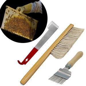 Инструмент для улей, щетка для пчелы, расческа, воск, скребок, извлечение вилки, пищевой пластик, экстрактор меда, инструмент для медового кр...