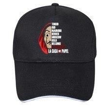 Sombrero con diseño De La Casa De Papel para hombre y mujer, gorra De béisbol con diseño De La Casa De Papel, La Casa De Papel, Hip Hop, 2020