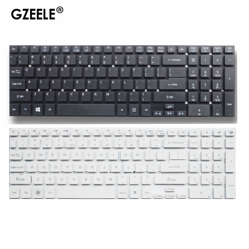 English New Keyboard for <font><b>Acer</b></font> Aspire V3-7710 V3-<font><b>772G</b></font> 5830 5830G 5830T 5755 V3-551 v3-771G V3-731 V3-572G E5-771 ES1-512 ES1-731G image